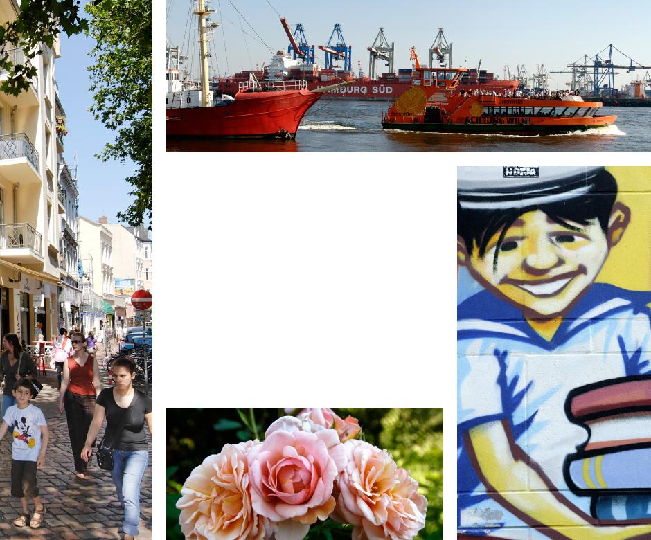 Impressionen aus Altona, Eimsbüttel, Othmarschen, Ottensen, St.Pauli